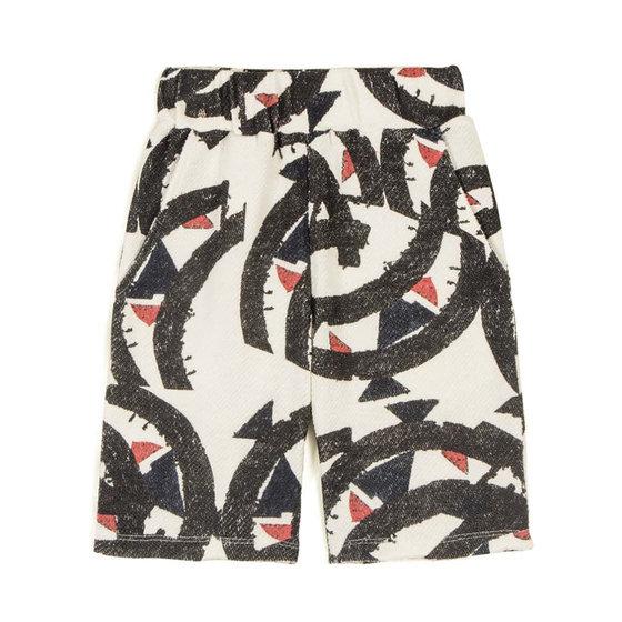 Fernando Broken Fall Knit Shorts