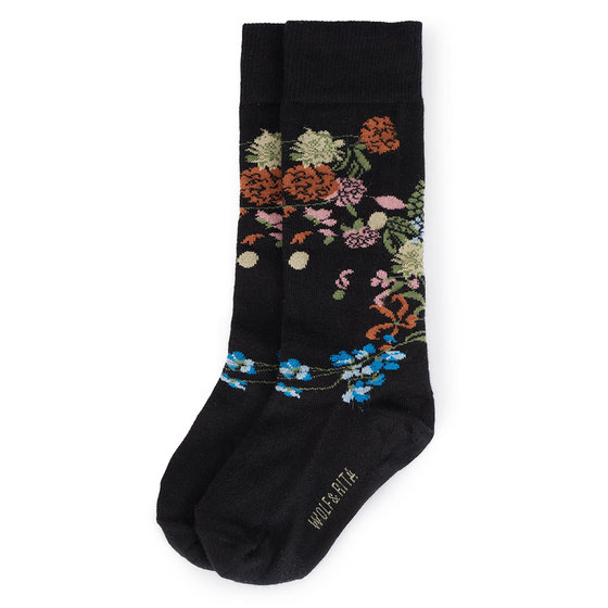Flowers Long Socks