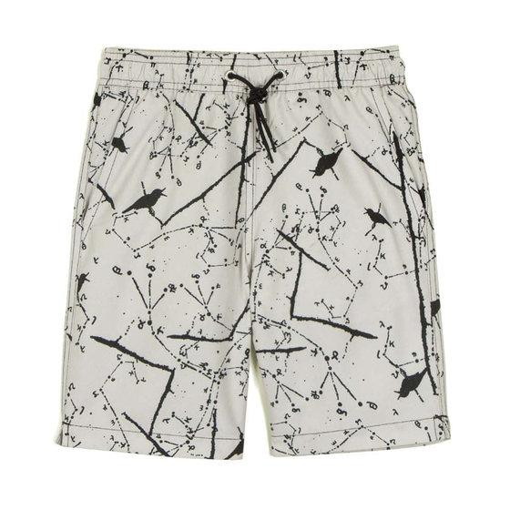 Simao White Galaxy Swimshorts