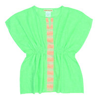 Light Green Caftan Dress