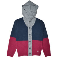 Boys Hooded Cardigan