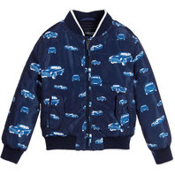 Toddler Boy Down Printed Jacket