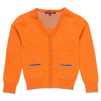 Toddler Boy V-Neck Wool Blend Cardigan