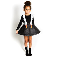 Swan Pinafore Dress