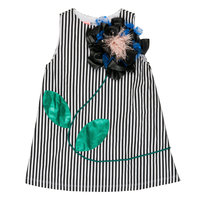 "Girl ""Fabulous Frida"" Big Flower Dress"