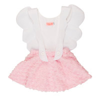 "New Season: Girl Pink ""Angel Girl"" Pinafore Dress"