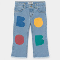 Multicolor Bobo Flared Denim Pants