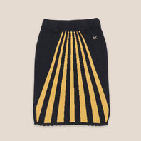 Stripes Knitted Skirt