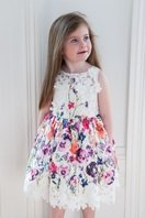 Multicolor Flowers Dress