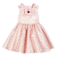 Light Pink Brocade Dress