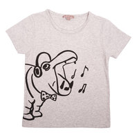 Grey Hippo T-shirt