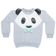 Grey Panda Sweatshirt