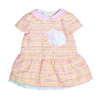 Baby Girl Tweed Dress