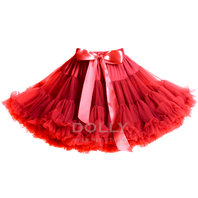 Dolly Red Pettiskirt