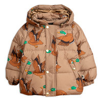 Brown Ducks Puffer Jacket