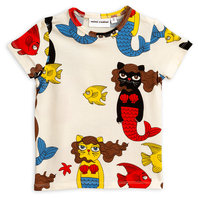 Cat Mermaid AOP Tee