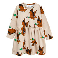 New Season: Duck AOP Long Sleeves Dress