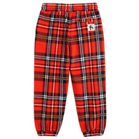 Fleece Check Trousers