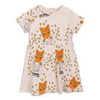 Cat Advice Short Sleeves Dress