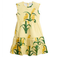 New Season: Parrot Woven Dress