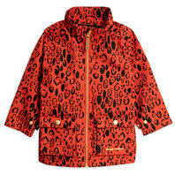 Red Leopard Piping Jacket