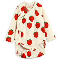 Strawberry AOP Wrap Body