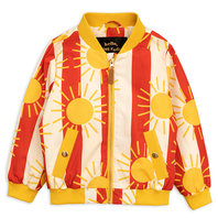 New Season: Sun Stripe Baseball Jacket