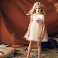 A-Line Tulle Overlay Natalie Dress