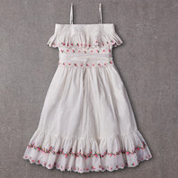 Rosie Dress in Bright White