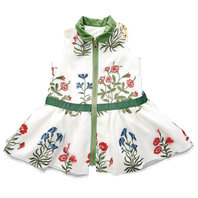 "Flower Embroidered ""Eva"" Dress"