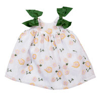 Baby Girl Rosario White Organza Dress