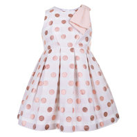 Rose Polka Dot Bodice Dress