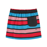 Knitted Stripe Skirt