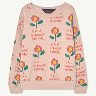 Pink Flowers Sweatshirt