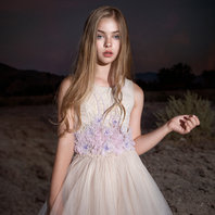 Desert Bloom Cascading Tutu Dress