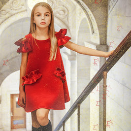 "Red Velvet ""Christmas"" Dress"