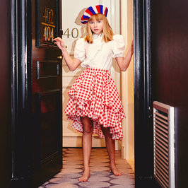 New Season: Oslo Skirt in Red Gingham
