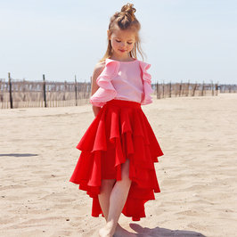 New Season: Oslo Red Skirt