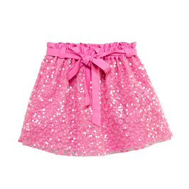 Girl's Skirt Sequin Pink