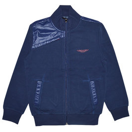 Boys Navy Blue Cotton Jacket