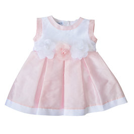 Baby Girl Pink Roses Dress