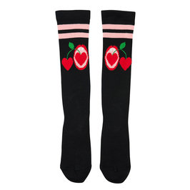 "Girl ""Cherries"" Knee Socks"