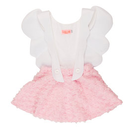 "Girl Pink ""Angel Girl"" Pinafore Dress"
