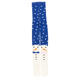 Snowman Family Tights with Feet