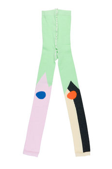 Green Grow Footless Tights