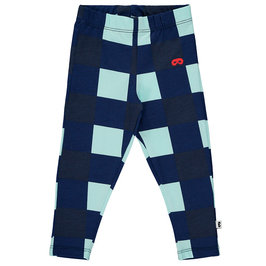 Baby Navy Gingham Leggings