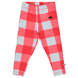 Baby Red Gingham Leggings