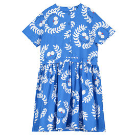 Button Front Printed Dress