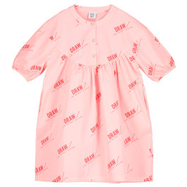 Girl Over-sized Smock Dress