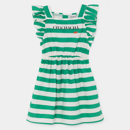 Chacha Kiss Woven Ruffled Dress